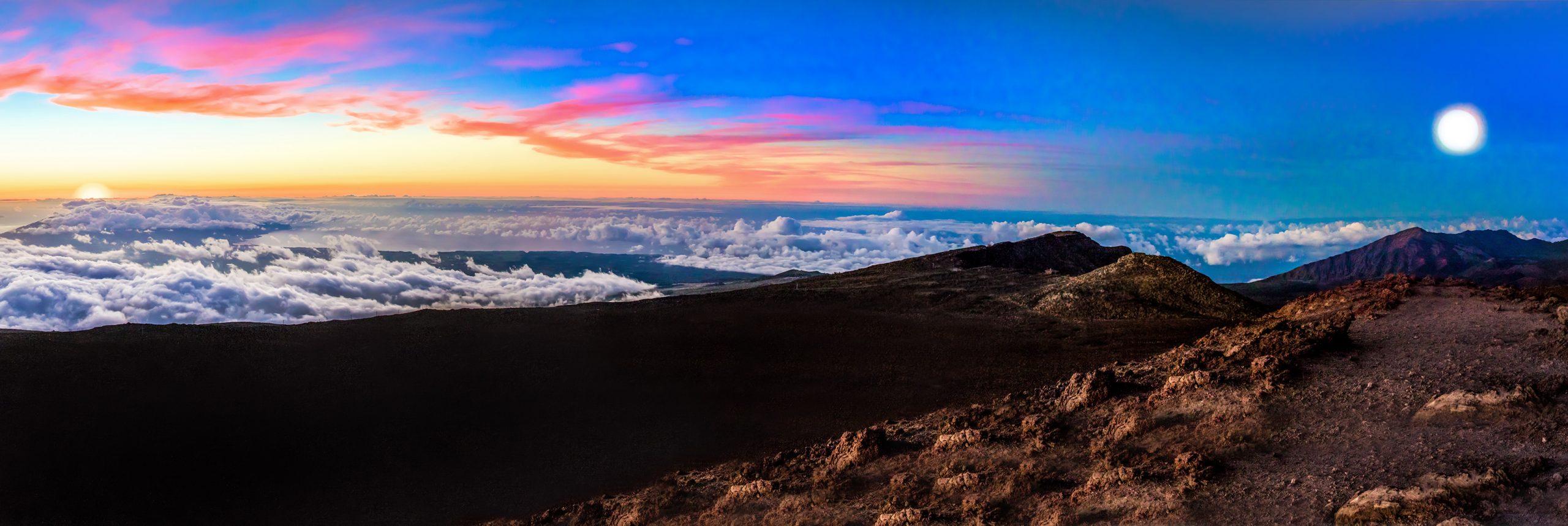 Haleakala Rise Set by Davin Phelps