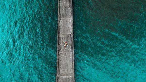 Hanalei Pier by Davin Phelps