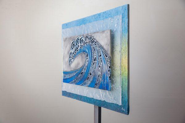 Grey Blue Slab by Randy Doering