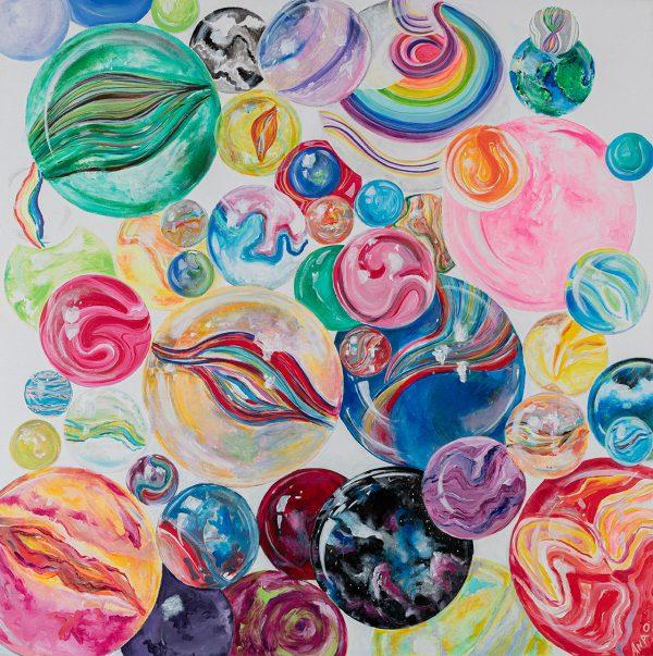 Ana's Planets by Ana O