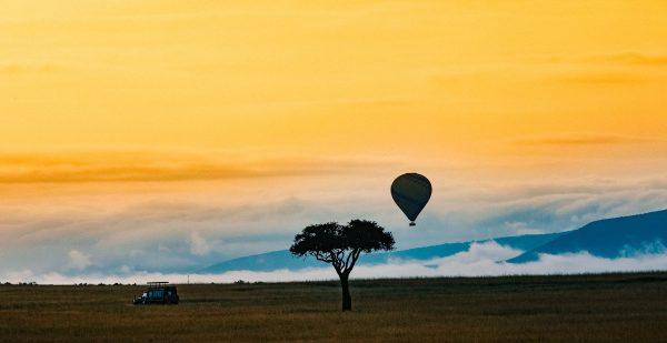 Morning Mara by Mike Leonard