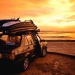 Surf Car by Mike Leonard