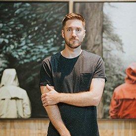 Artist Adam Hall