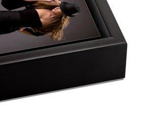 Black Float Frame