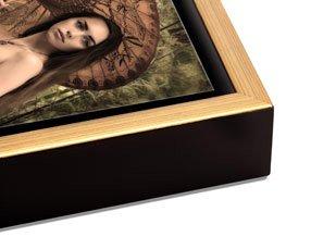 Gold Float Frame