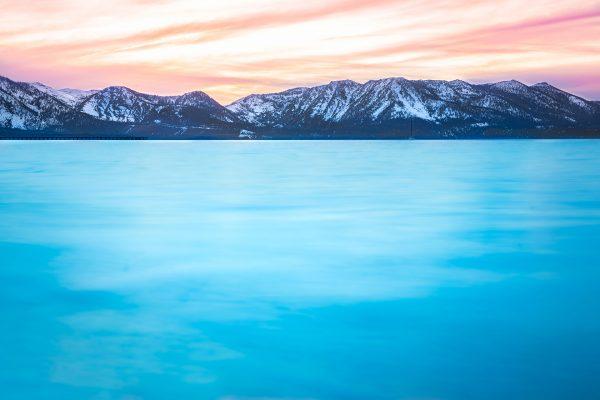 Sunset on Lake Tahoe by Davin Phelps